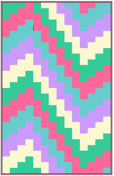 Great Baby Bargello Quilt Pattern Free 391 x 604 · 23 kB · jpeg